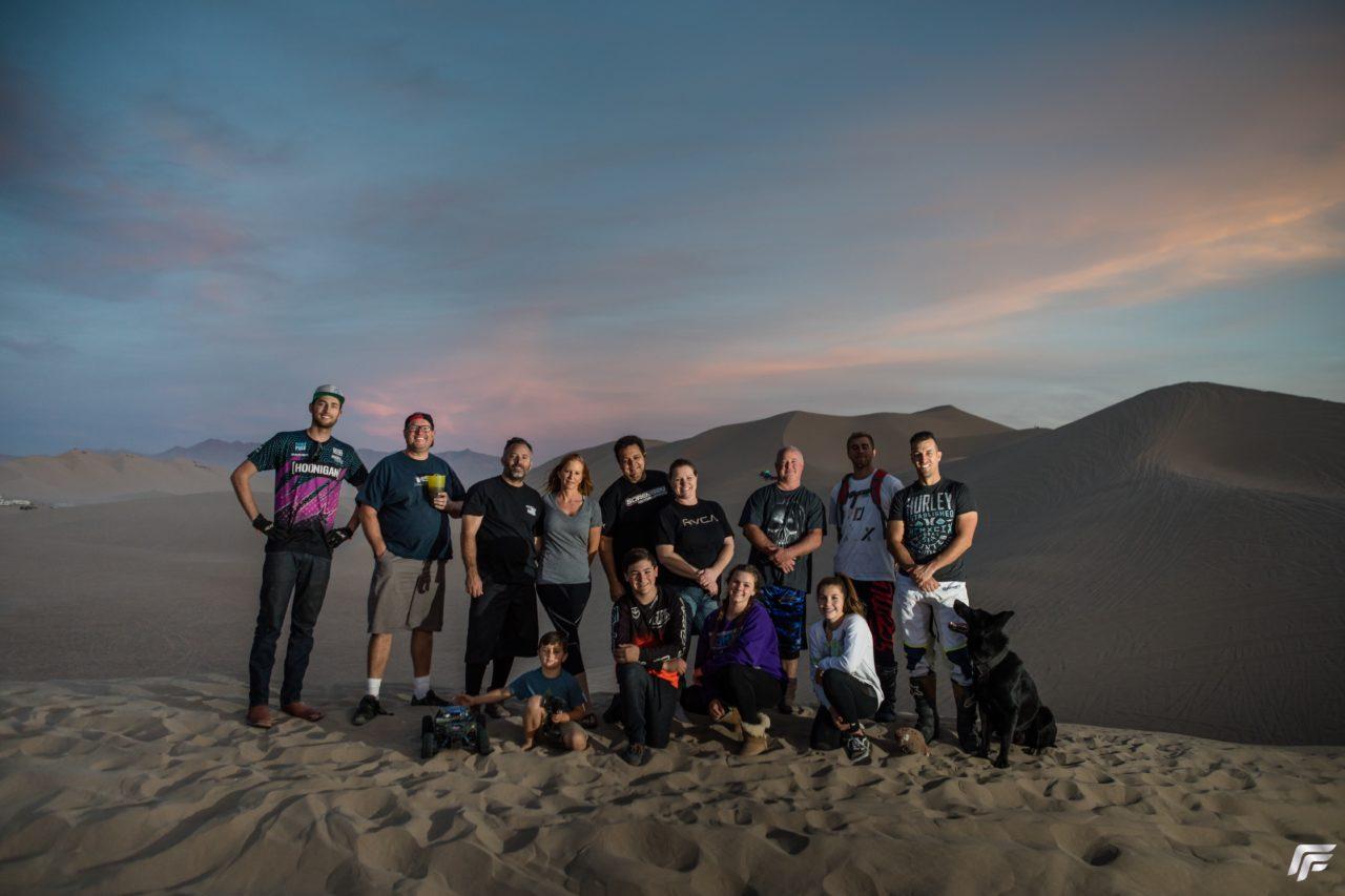 sorensen race crew, dumont dunes